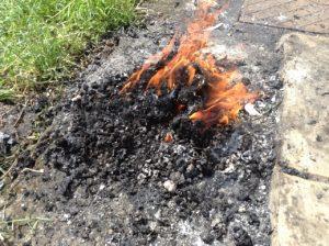 5 Burning Garbage